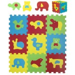 Tappeto Puzzle Ludi 2 in 1 Animali Basic