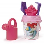 Set Secchiello Smoby Disney Princess 3 16 cm con Accessori