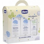 Baby Moments Set Trial Cambio Bagno Chicco (bagnoschiuma 200 ml, shampoo 200 ml, pasta lenitiva 100 ml)